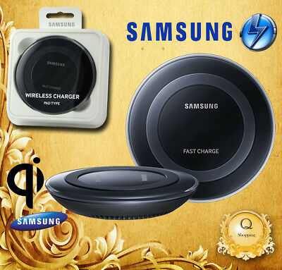 Genuine Samsung Galaxy S9 S6 S7 Edge S8+ QI Wireless Charger Charging Pad Plate