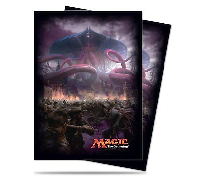 Magic the Gathering - MTG Eldritch Moon Emrakul Card Sleeves (80 Count) Deck