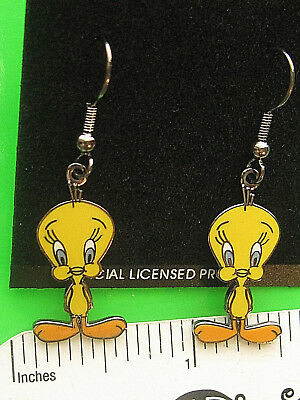 TWEETIE BIRD , Tweety Bird   (classic pose) - Earrings , ear rings GIFT BOXED