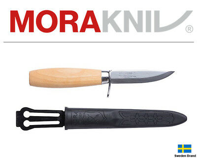 Morakniv Fixed Blade Knife Wood Carving Jr73/164 Carbon Steel With Sheath 21033