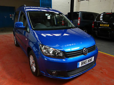 11 Volkswagen  Caddy   Ride Up Front   Disabled Adapted Vehicle