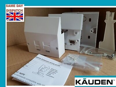 ADSL Internet VDSL2 Broadband High Speed faceplate filter BT NTE5A Master Socket