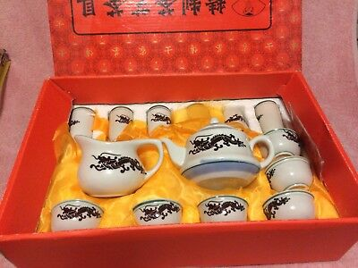 15 Pc Tea Set--Miniature--Japan----Free Ship--Vgc