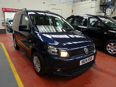 14 Volkswagen  Caddy Automatic     Wheelchair Adapted Disabled Vehicle
