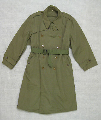 US ARMY WW2 M1938 OFFICER'S FIELD COAT trench 42R Mint