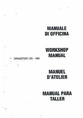 Italjet Dragster 125 - 180 Workshop Service Manual