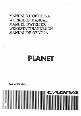 Cagiva Planet Workshop Service Manual