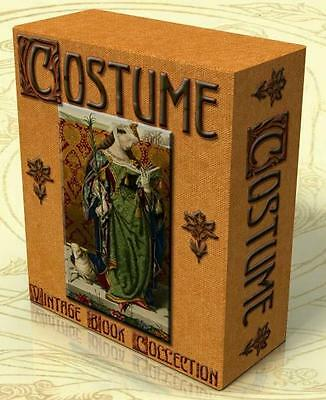 HISTORY OF COSTUME 108 Rare Vintage Books on DVD Dress Fashion History Textiles