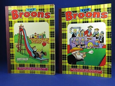 The Broons Vintage Annuals ~ 1975 & 1979