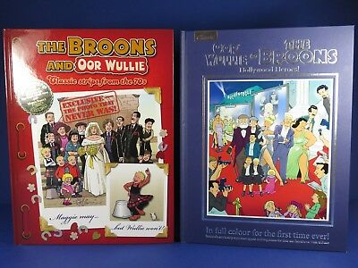 Oor Wullie & The Broons ~ Hollywood Heroes & Classic Strips From The 70's