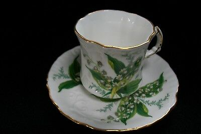 Hammersley Fine Bone China Tea Cup and Saucer Set-Made In England