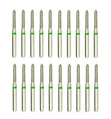 Multi-Use Diamond Dental Burs, 878-012C (Modified Beveled Cylinder, Coarse)
