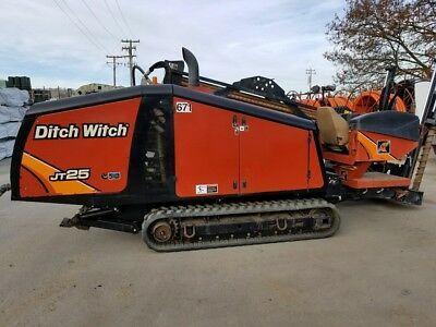 13' Ditch Witch Jt25 Directional Drill Package-2,850 Hrs-Turn Key-Ready To Work!