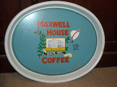 Vintage Maxwell House Coffee Tray
