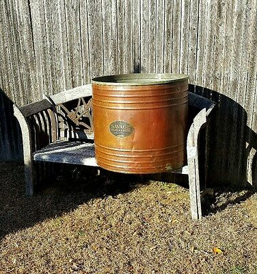 1923 Savage Arms Corporation Utica N.Y. Copper Washer Outside Planter Pot