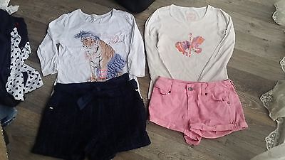 Mix Item Girl Top ,legging ,short Included Pumpkin Patch Size 9-10(Fit Size 8-9)