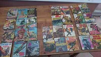 Vintage war comics job lot commando war battles
