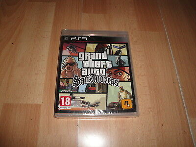 Grand Theft Auto San Andreas Gta Para Sony Play Station 3  Ps3 Nuevo Precintado
