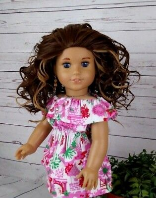 10-11 Custom Doll Wig fit Blythe-American Girl-1/4 Size Dolls MONDAY MORNING bn1