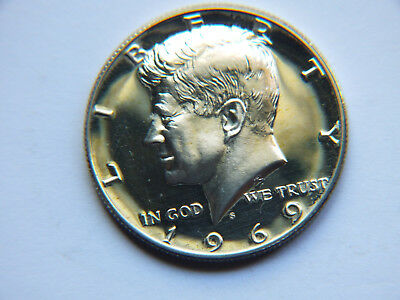 1969 United States Half Dollar Coin