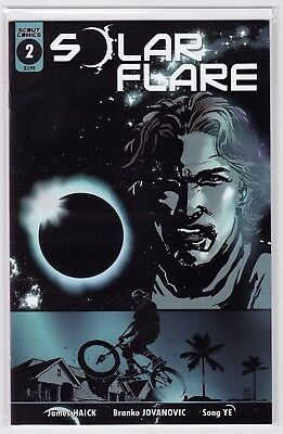 Solar Flare #2 1st Print NM Scout Comics 2017 Sold Out HTF (NEW/UNREAD)