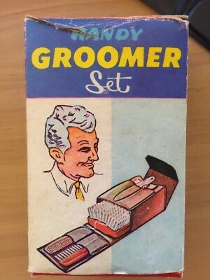 Vintage Retro Handy Groomer Set With Box