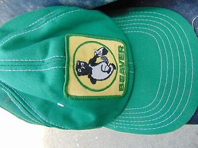 Beaver Lumber Stores Ball Cap Well Used 1980's
