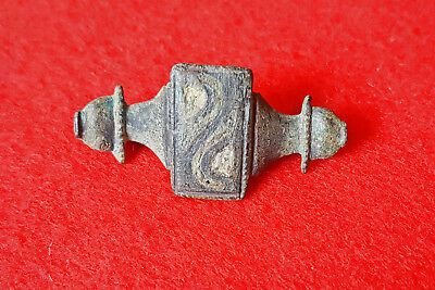 P51: AUTHENTIC  ANCIENT ROMAN   FIBULA -BROOCH   1-3c. AD