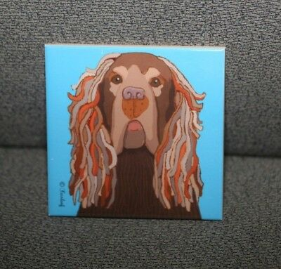 Sussex Spaniel Tile
