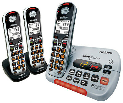 Uniden Sse35+1 Visual & Hearing Impaired Cordless Phone System