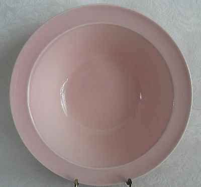 """LuRay  TS&T Large Vegetable Serving Bowl 8 7/8""""  (9"""")  -  Pink"""