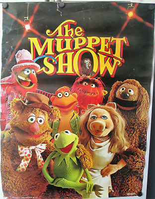 """The Muppets-1976 VINTAGE """"THE MUPPET SHOW"""" #3601 Original POSTER 20"""" x 28"""""""