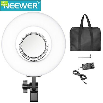 "LED RING LIGHT Mini 7.7"" / 19.5 cm Neewer Dimmable Outer 24W 5500K Mirror Selfie"