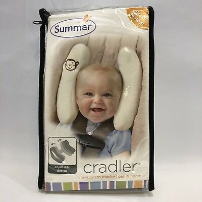 Summer Infant Toddler//Kids//Baby Car Seat Cradler Head Support Protection Q