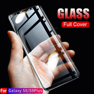 For Samsung Galaxy S9/S8 Plus Film Tempered Glass 3D Full Cover Screen Protector