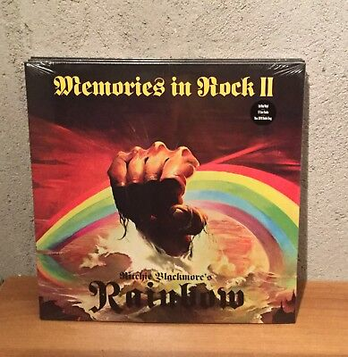 Rainbow Ritchie blackmore's Memories In Rock II 3 LP Limited Red Vinyl Sealed