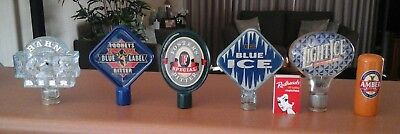 Tooheys/Fosters/Hahn Ice Beer tap badge. Man cave/collectible.P/up vic 3805/post