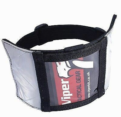Viper Security Id Armband Badge Holder Doorman Si Card Permit Pass Licence Pouch