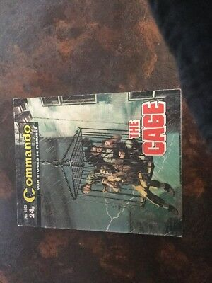 1. very old Commando war 1955 The Cage
