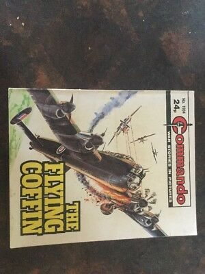 1. very old Commando war The Flying Coffin