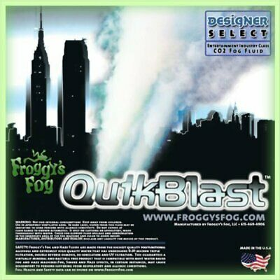 5 Liter - Quick Blast Fog Juice - CO2 Q Dissipating Fog Machine Fluid