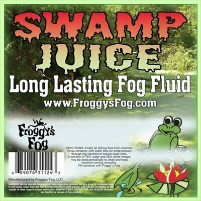 5 Liter - Swamp Juice (Extreme Hang Time Longest Lasting Fog Fluid)