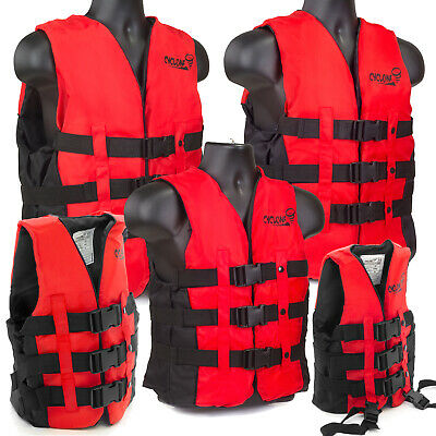 Hi Vis Ski Buoyancy Aid Jacket Adult Child Kids PFD Kayak Sailing Canoe Bouyancy