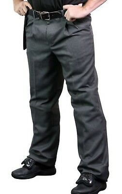 Champro The Field Baseball Umpire Pants Official UMP Pant Charcoal Gray BPR2