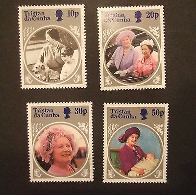 Tristan Da Cunha 1985 85th Birthday Queen Mother  MNH UM unmounted mint