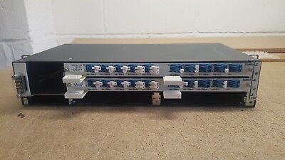 ECI TELECOM CHASSIS WITH 2 x D32MD1