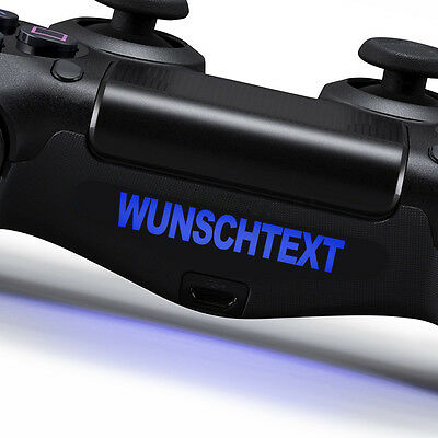 6x Aufkleber PS4 Lightbar Sticker Playstation 4 Controller Light Sony Dualshock