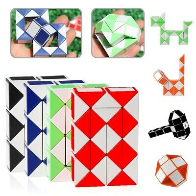 Snake Puzzle Mini Magic Cubes Toy Boy Girl Favor Prize Birthday Party Bag Filler