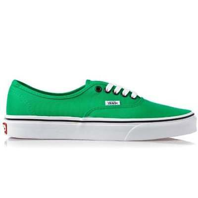 Vans Authentic Bright Green Unisex Canvas Trainers