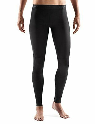 SKINS Women's RY400 Compression Recovery Tights, Black/Black, X-Large